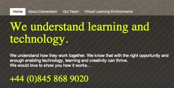 Cleveratom website image
